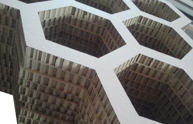 蜂窝纸板箱是一种非常流行的包装方式